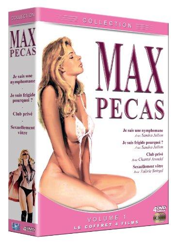 Coffret Max Pécas : Je suis une nymphomane-Je suis frigide pourquoi?-Club privé-Sexuellement vôtre [Edizione: Francia]