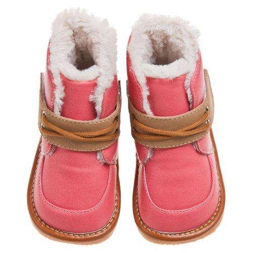 Little Blue Lamb Couine Chaussures Bottes Bottes fourrées rose Rose