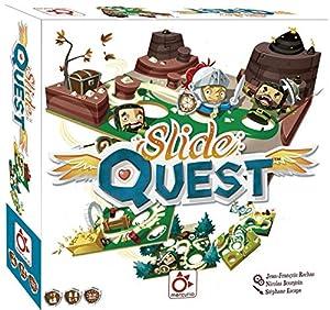 Mercurio- Juego Slide Quest para Familia Ayuda AL Caballero A Llegar A Final DE Cada Mapa, (BO0012)