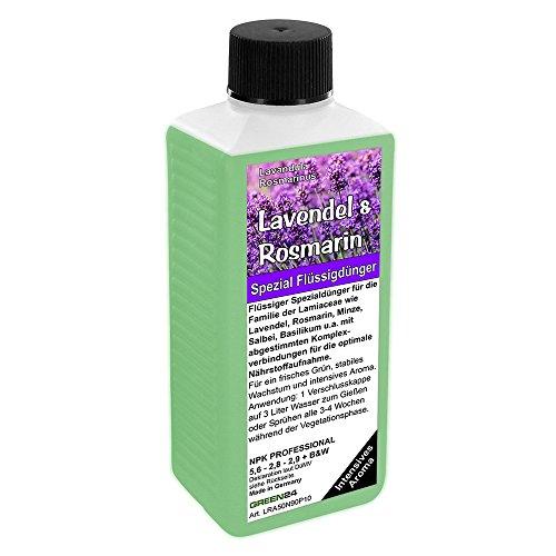 GREEN24 Lavendel & Rosmarin Dünger NPK Volldünger für Lamiaceae (Lavendula, Rosmarinus, Minze, Salbei, Basilikum) Pflanzen düngen (Basilikum Salbei)