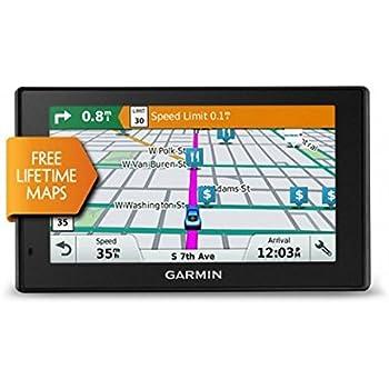 "Garmin DriveSmart 50LM Fijo 5"" TFT Pantalla táctil 173.7g Negro navegador - Navegador GPS (12,7 cm (5""), TFT, SSD, MicroSD (TransFlash), Fijo, Negro)"