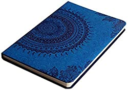 Doodle Ethnic Motif Diary Notebook - A5, 80GSM, 200 Pages (Multicolor)