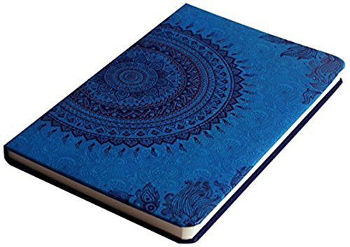 Doodle Ethnic Motif Diary Notebook - A5, 80GSM, 200 Pages...