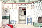 POSTERLOUNGE Impression sur Verre Acrylique 150 x 100 cm: Brita's Forty Winks de Carl Larsson/Bridgeman Images