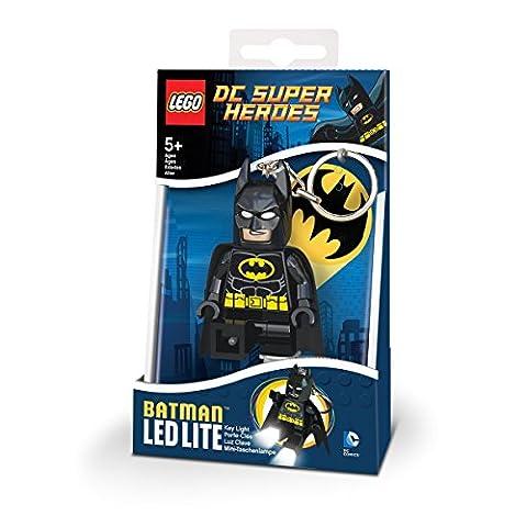 Lego LGLKE26 - Schlüsselhänger mit Lampe Batman, mehrfarbig