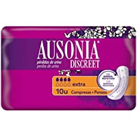 Ausonia Discreet Extra Compresas para Pérdidas de Orina - 10 unidades
