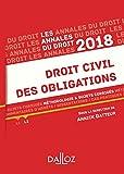 Telecharger Livres Droit civil des obligations 2018 Methodologie sujets corriges (PDF,EPUB,MOBI) gratuits en Francaise