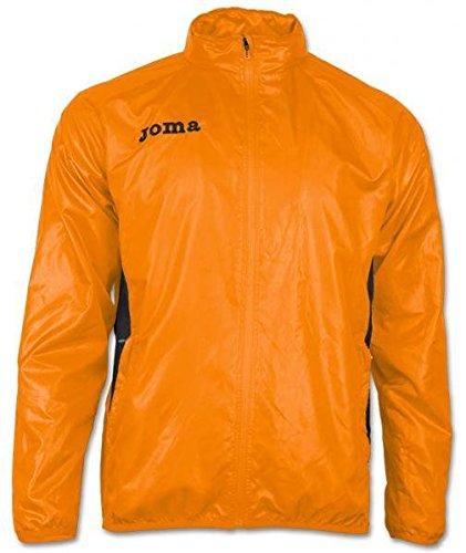 Joma Elite III Giacca Pioggia rosso grigio F5, Uomo, Orange, S Arancione - arancione