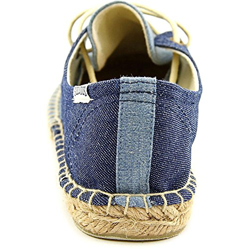 Soludos Lace Up Espadrille Toile Espadrille Chambray rinse