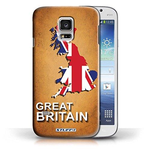 Kobalt® Imprimé Etui / Coque pour Samsung Galaxy S5 Mini / Australie conception / Série Drapeau Pays grande-Bretagne