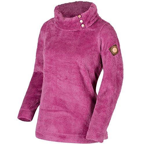 Neck Fleece Pullover (Regatta Womens/Ladies Odella High Neck Fluffy Fleece Pullover Top)