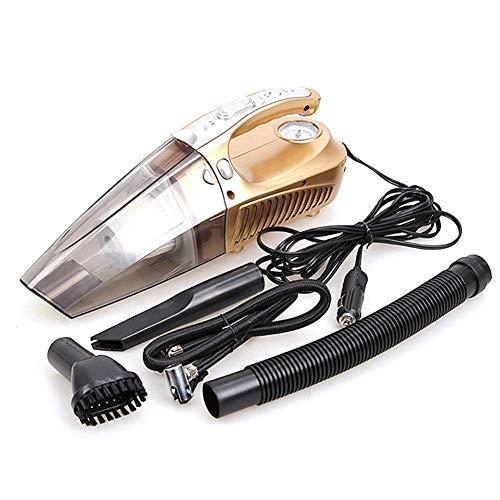 Zbjj aspirapolvere per auto portatile 12v aspirapolvere per auto ad alta potenza con luci led aspiratore per auto con pompa a mano ad alta aspirazione aspirapolvere
