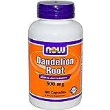 Löwenzahn-Wurzel, 500 mg, 100 Kapseln - Now Foods