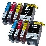 8 Druckerpatronen kompatibel mit HP 920 XL mit Chip und Füllstandsanzeige für HP 920XL für HP Officejet 6000W 6500 6500A Plus 6500W 7000