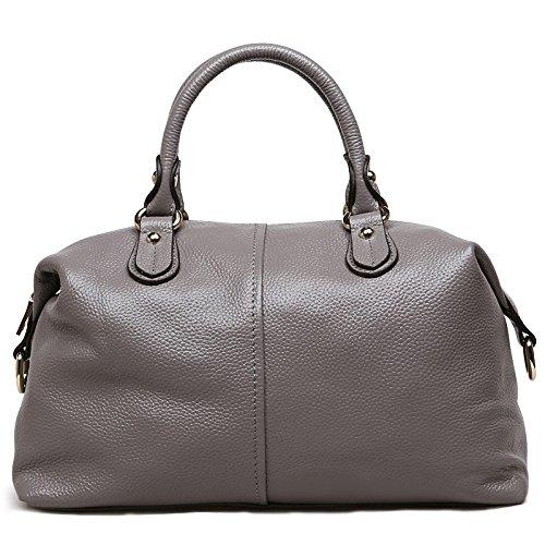 Chlln Die Erste Schicht Ledertasche Leder Handtasche Neuen Sommer - Und Die Erste Schicht Leder Umhängetasche gray