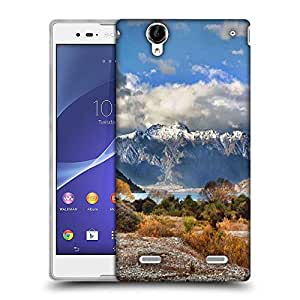 Snoogg White Clouds Designer Protective Phone Back Case Cover for Sony Xperia T2 Ultra