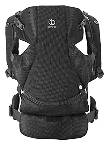 Stokke MyCarrier Front Carrier, Black Mesh by Stokke