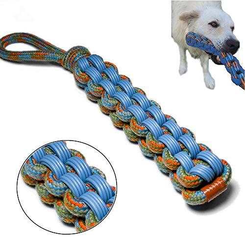 gioco corda per cane da mordere e tirare per cani di grande taglia allenamento assieme lanciare recupero