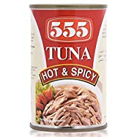 555 Tuna Hot And Spicy  - 155 gm