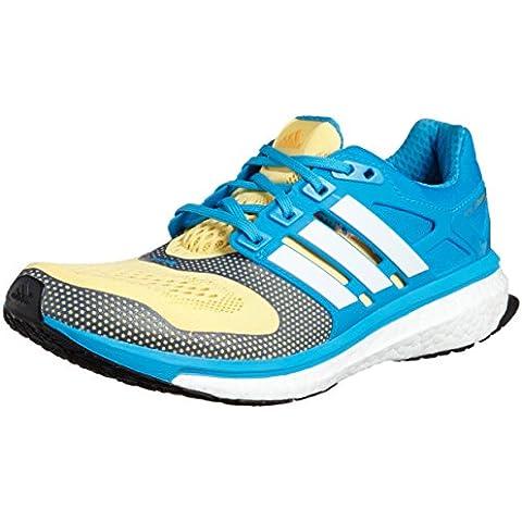 adidas Performance ENERGY BOOST 2 ESM Zapatillas para Correr Running Azul Amarillo para Hombre