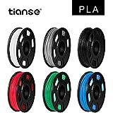 TIANSE filamento stampante 3d, 1,75 mm, precisione dimensionale +/- 0,03 mm (2,2 lbs.)