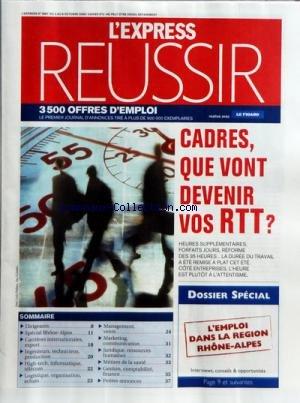 FIGARO REUSSIR (LE) [No 19987] du 03/11/2008