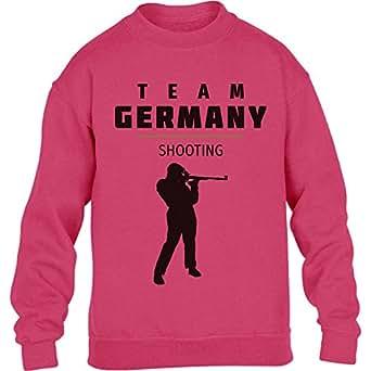 Deutschland Schieß Team – Schießen Fan Motiv Rio Kinder Pullover Sweatshirt