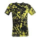 Tie Dye Yellow / Black Killer Bees Scrunch T-Shirt 2XL - Best Reviews Guide