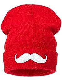 4sold Chapeaux Bonnet Souple 6modèles avec logo mustashe