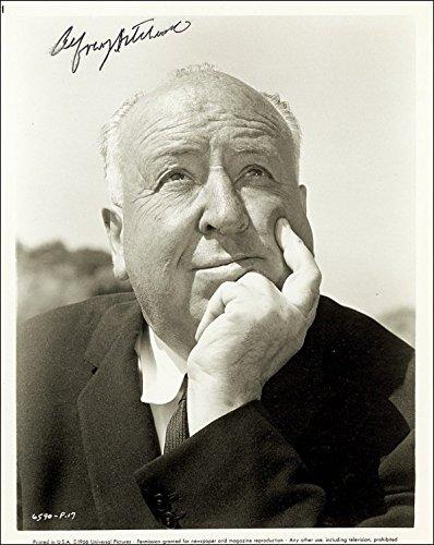 Movie Posters Filmplakate Alfred Hitchcock Autogramm, Signiert Foto Druck ca. Größe 27,9x 20,3cm ' (8x11 Druck-foto-papier)
