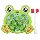 ZREAL Spielen Whack A Frog Toys Set Spaß für Jungen Mädchen Weihnachten Geburtstagsgeschenke