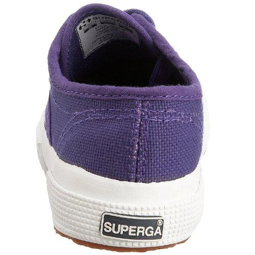 Superga 2750-Jcot Classic Scarpe da Ginnastica, Unisex Bambini Porpora (Violet-451)