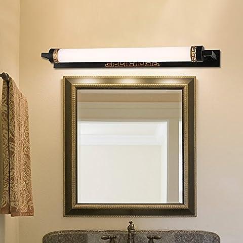 TYDXSD Retro nouvelle chambre de style chinois miroir commode miroir