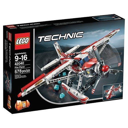 Preisvergleich Produktbild LEGO Technic Fire Plane For 9 Years and Up 42040 by Illuminations