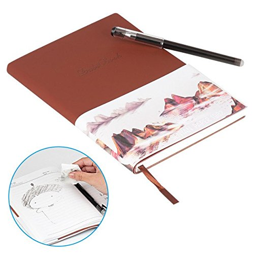 BAKTOONS Reusable Smart Notebook, Smart Notebook with Pilot Friction Pen,...
