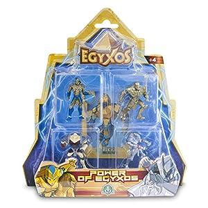 Egyxos- Disney Blíster con 4 Figuras y 4 Cartas, Color, Unico (Giochi Preziosi Spagna GYX03111)