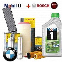 Kit Tagliando 6 L con aceite motor MOBIL 1 Esp 5 W30 + 4 Filtros ORIGINALES