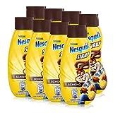 Jacobs Nesquik Sirup Dose, Schokosirup für Dessert, Frühstück oder Milchgetränke, 8 x 300 ml, 12018291