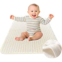 Waterproof Sheet - Washable Waterproof Bed Pad - Incontinence Mattress Protector for Baby Toddlers Children Adults by YOOFOSS