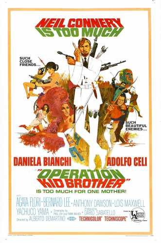 Operation Kid Brother Poster 01 A3 Box Canvas Print (Operation Kid Brother)
