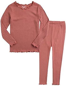 Vaenait baby 74-122 Saeugling Kinder Maedchen Bekleidung Langarm zweiteilig Schlafanzug niedlich