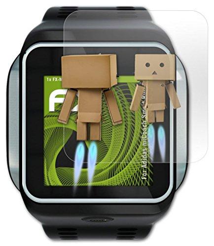 Adidas miCoach Smart Run Spiegelfolie - atFoliX FX-Mirror Displayschutz Folie mit Spiegeleffekt