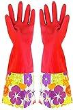 East Majik Latex Handschuhe Reinigungshandschuhe Haushalt Handschuhe Wasserdichte Latex Handschuhe