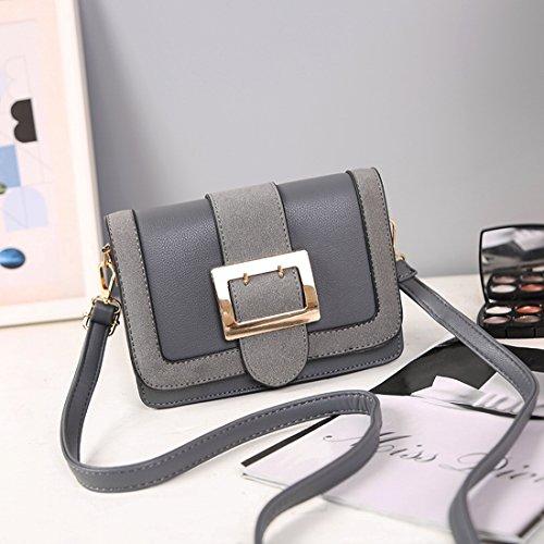 Weibliche Schulter Messenger Bag Mode-Paket Licht Grau