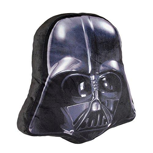 Cerdá Darth Vader-Cuscino in velluto, 30x 32x 15cm, colore: nero