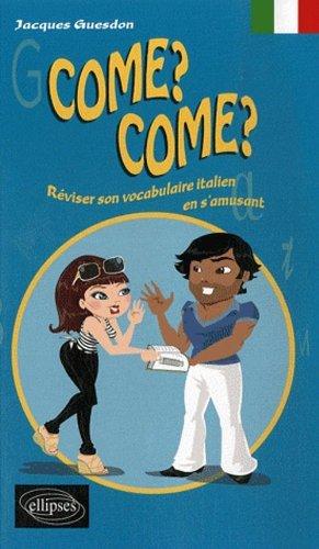 Reviser Son Vocabulaire Italien En S'Amusant by Guesdon (2007-08-15)