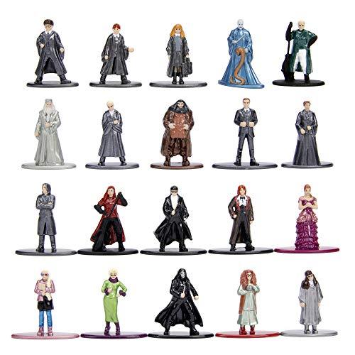 Dickie Toys 253185000 20-Pack, Die-Cast Nano, Set, Figuren, Harry Potter Sammelfiguren, Mehrfarbig (Amazon Harry Lego Potter Sets)