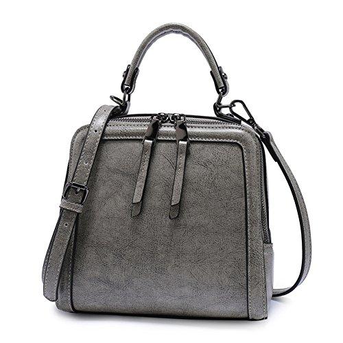 Abbigliamento donna cerniera borsa monospalla diagonale di svago coreano/ Joker trasportare borsa casual-A C