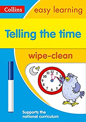 Telling the Time Wipe Clean Activity Book (Collins Easy Learning KS1) from Collins