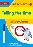 Telling the Time Wipe Clean Activity Book (Collins Easy Learning KS1)